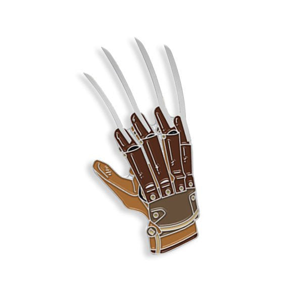 Freddy Glove Enamel Pin - Spoke Art