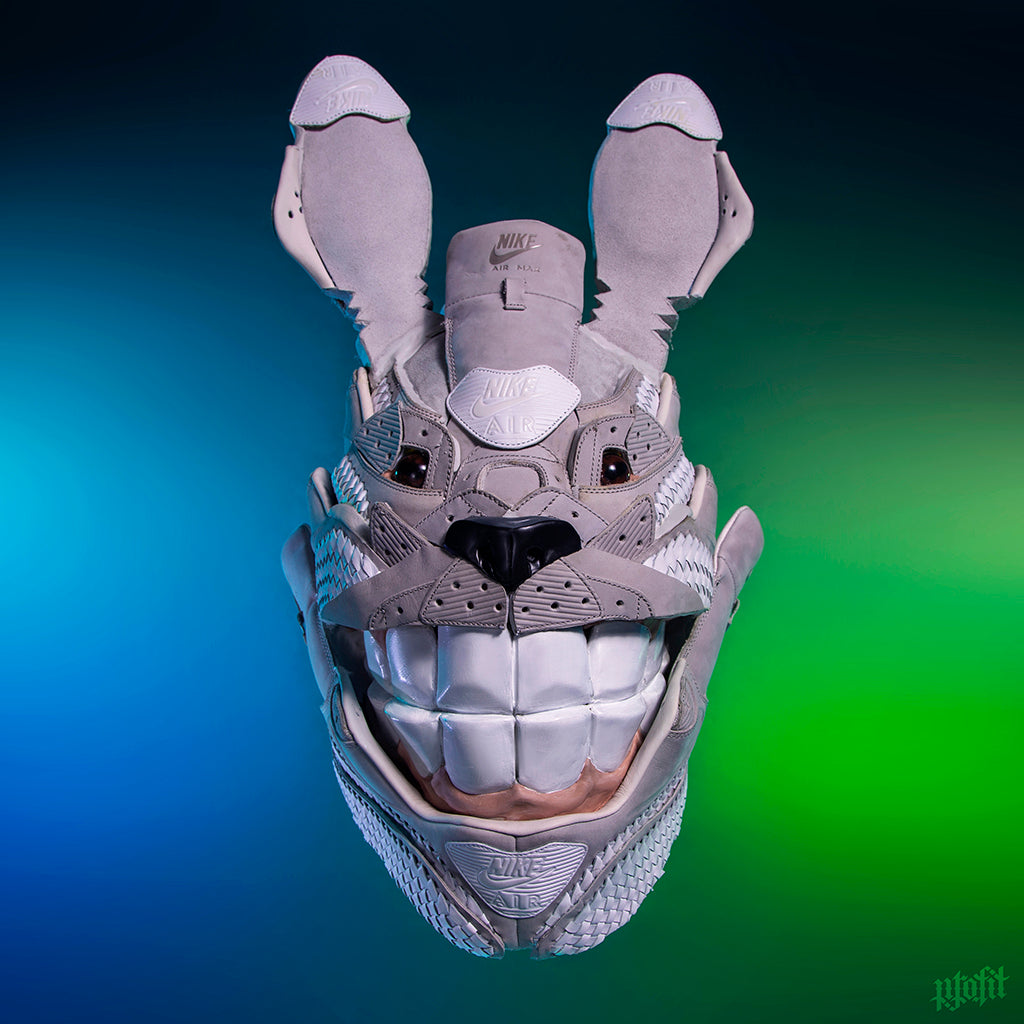 "Freehand Profit (Gary Lockwood) - ""Totoro Air Max 90 Mask"""