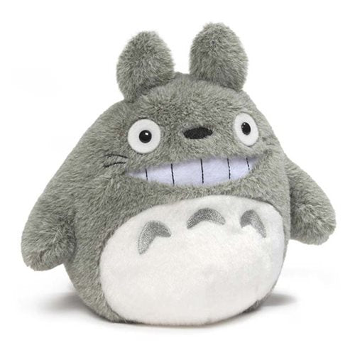 """My Neighbor Totoro"" Totoro Smiling 5 1/2-Inch Plush - Spoke Art"