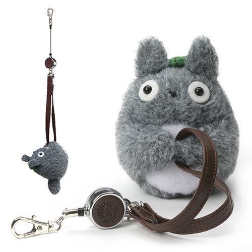 """My Neighbor Totoro"" Totoro Handbag Reel Key Holder - Spoke Art"