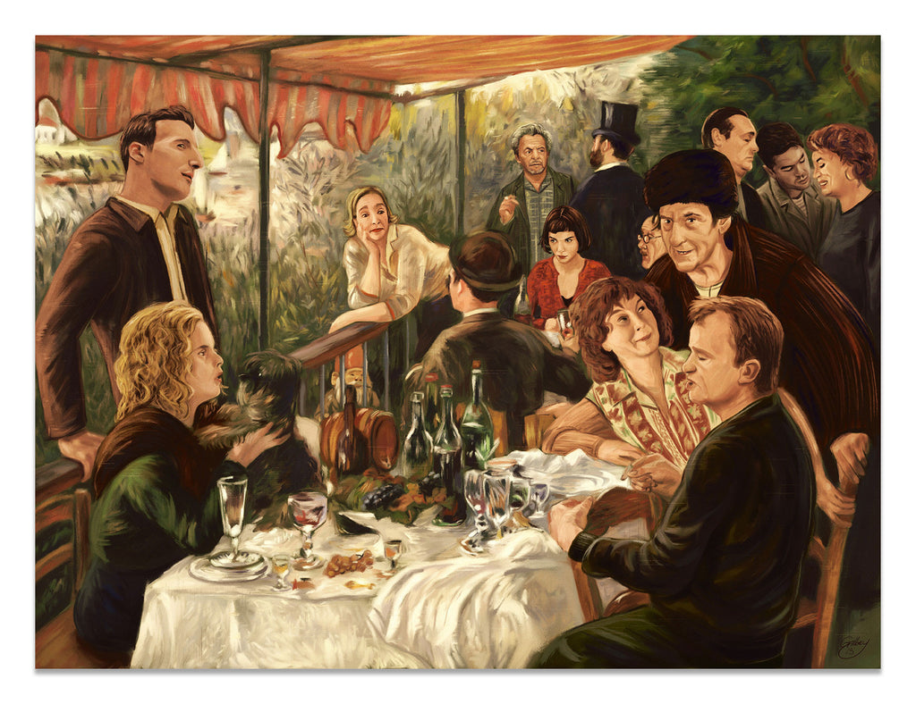 "Sam Gilbey - ""Luncheon of the New Boating Party"" (after Renoir)"