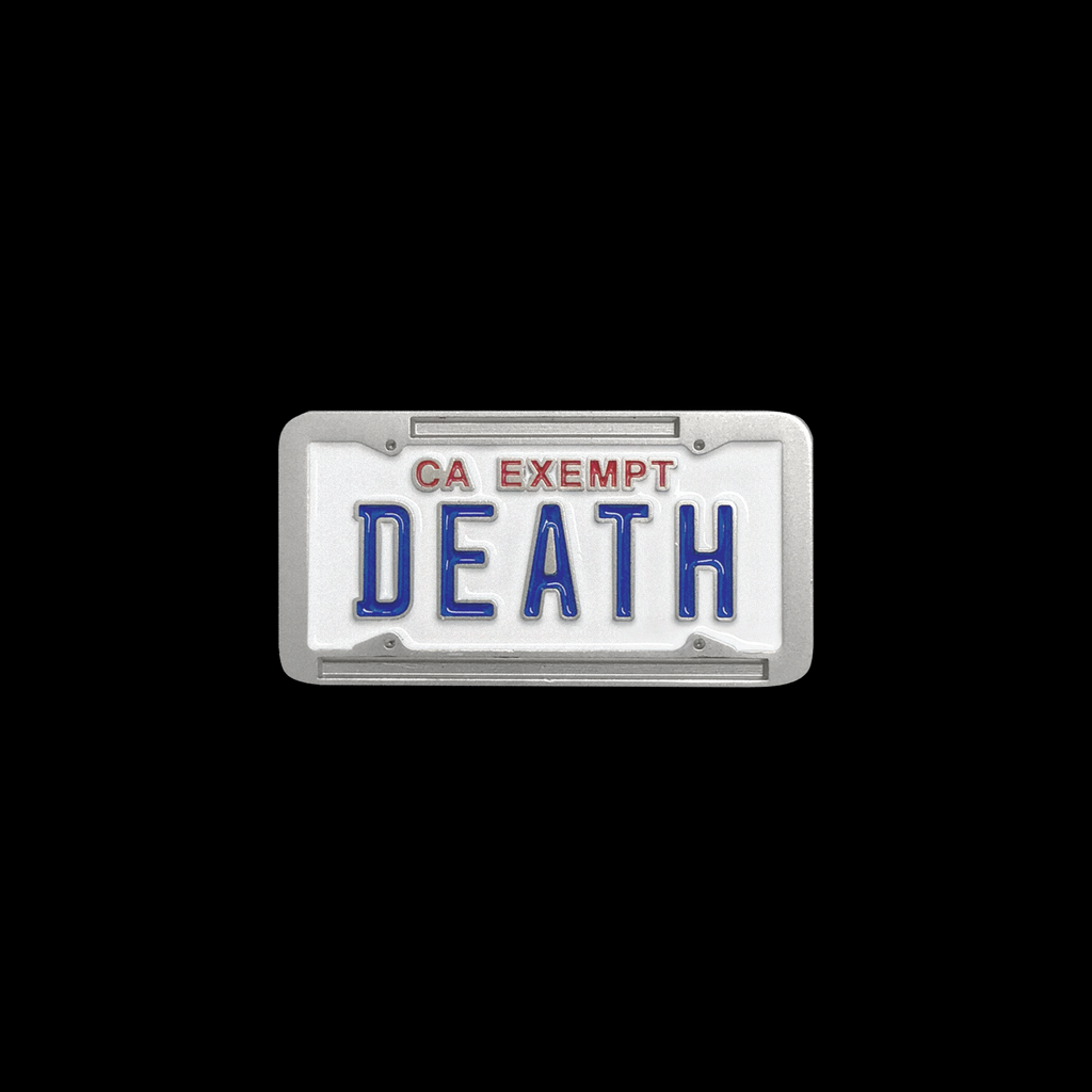 Government Plate Enamel Pin