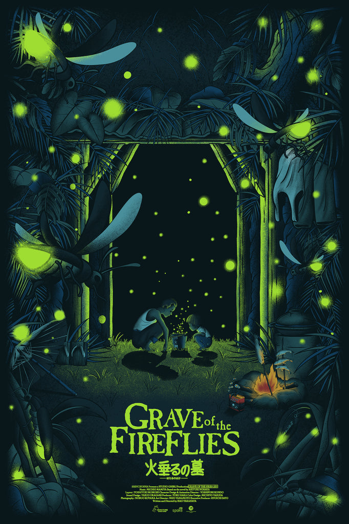 "Germain Barthélémy - ""Grave of the Fireflies"" - Spoke Art"