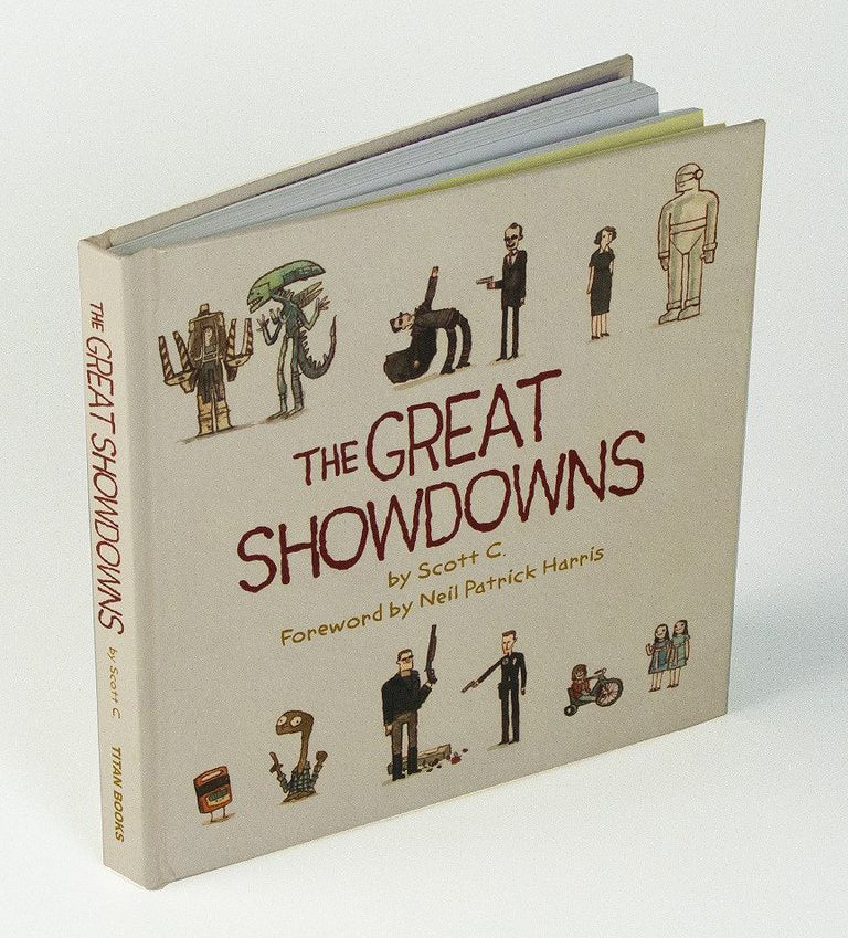 "Scott C. - ""Great Showdowns"" - Spoke Art"