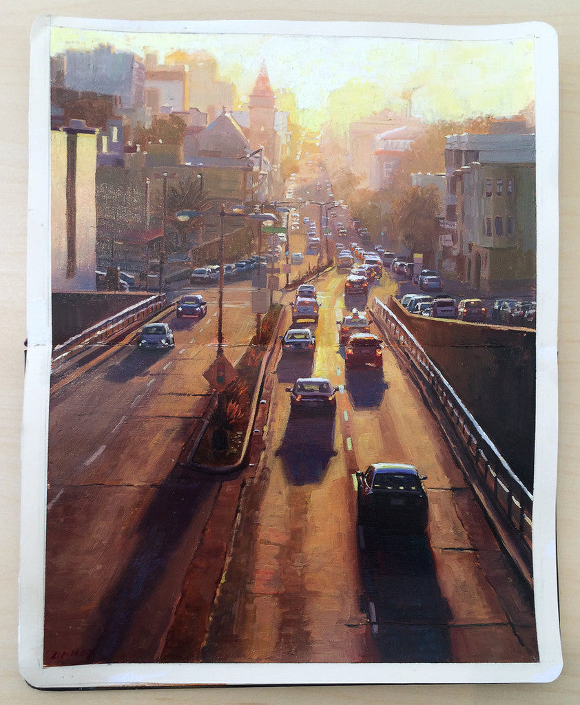 "Greg Gandy - ""Sunset from Broadway Tunnel"""