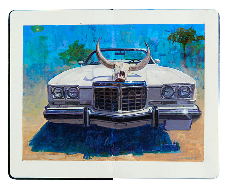 "Greg Gandy - ""1974 Pontiac Catalina"" - Spoke Art"