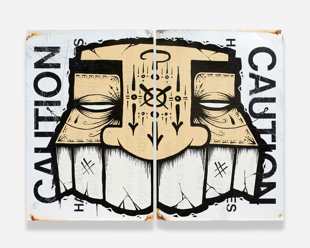 "GATS - ""Caution"" - Spoke Art"