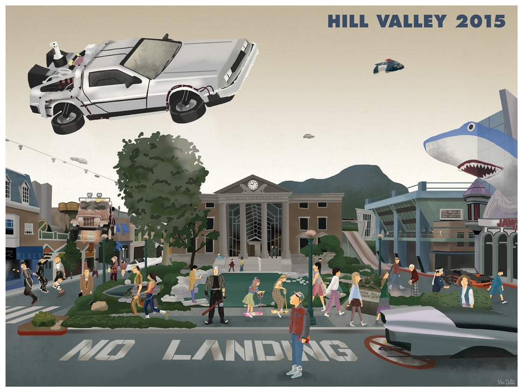 "Max Dalton - ""Hill Valley"" - Spoke Art"