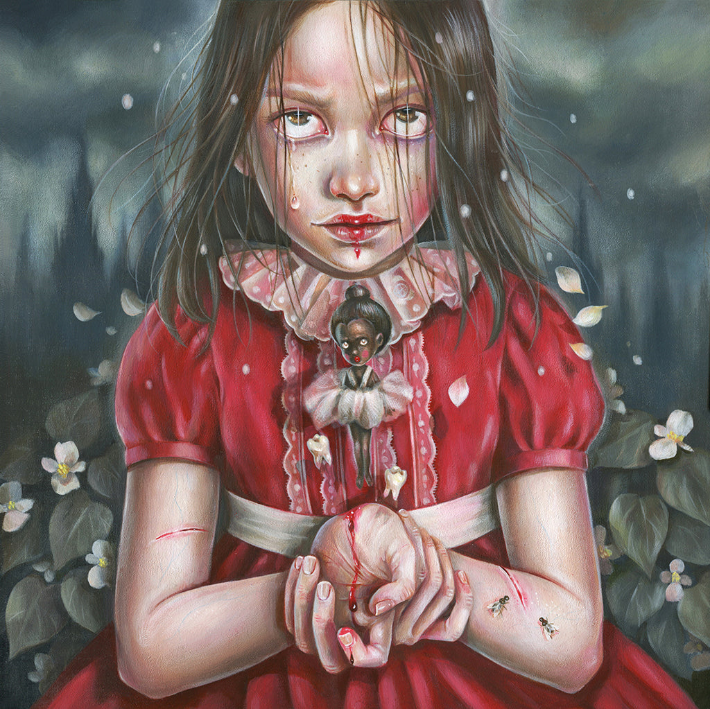 "Hanna Jaeun ""Little Ballerina Girl"" - Spoke Art"