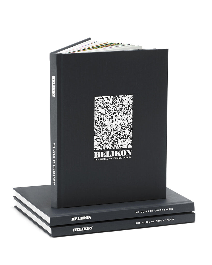 "Chuck Sperry – ""Helikon"" (silver edition)"