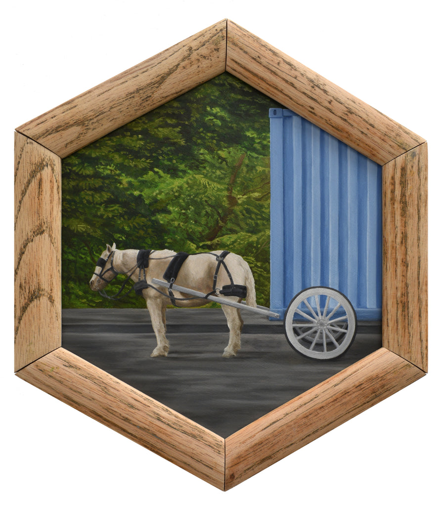"Peter Adamyan - ""Horse Drawn Cargo Delivery"" - Spoke Art"