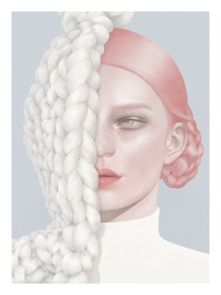 "Hsiao Ron Cheng - ""Knitting"" - Spoke Art"