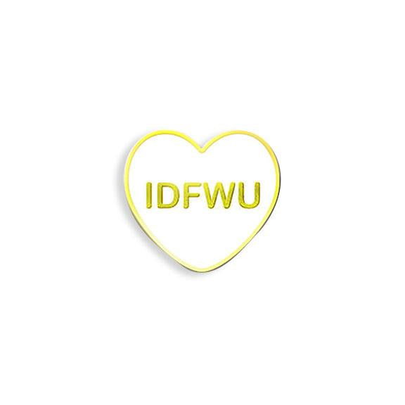 IDFWU Enamel Pin - Spoke Art