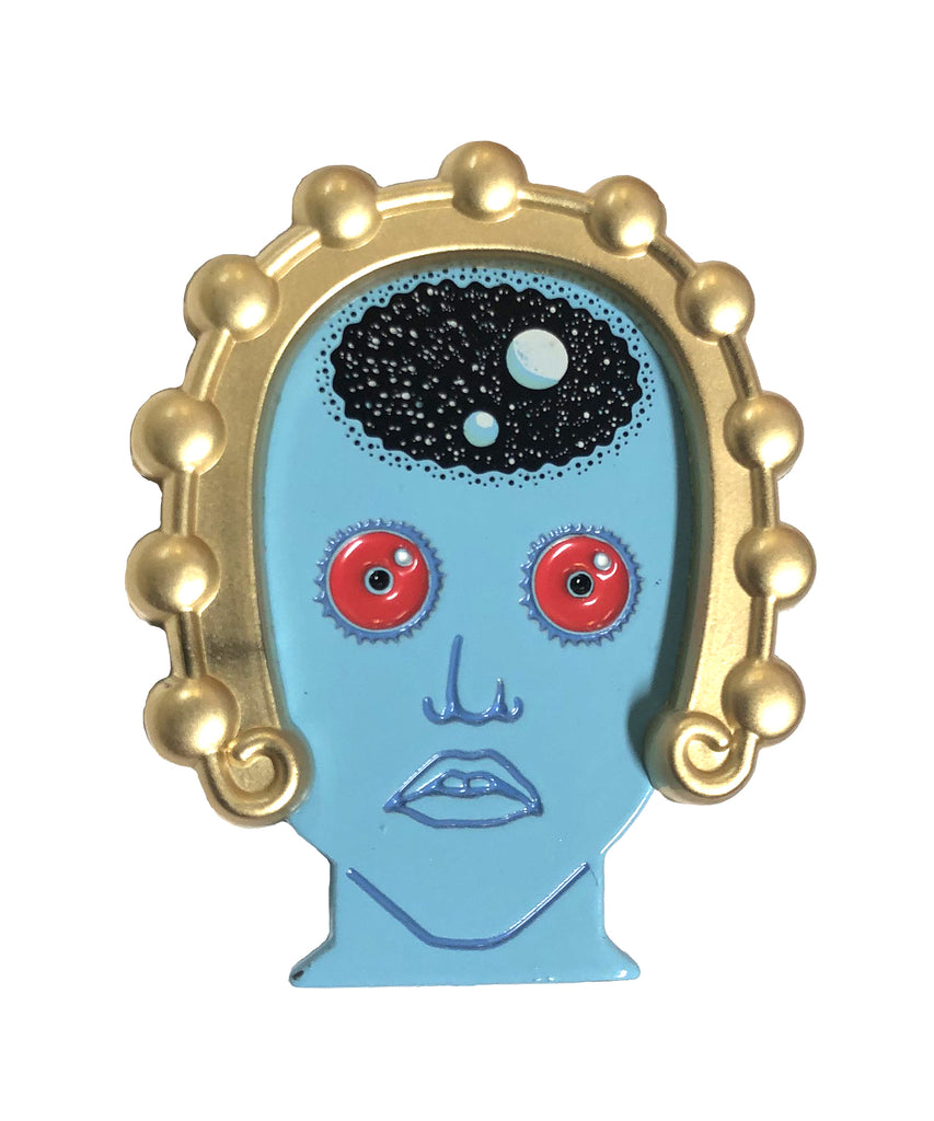 Draag with Headband (Fantastic Planet) Enamel Pin