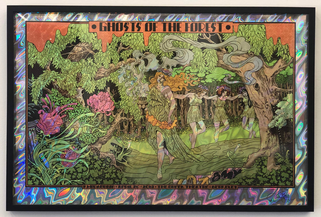 "Chuck Sperry - ""Ghosts of the Forest, Greek Theatre 2019"" - Spoke Art"