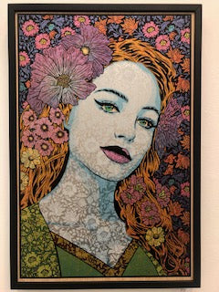 "Chuck Sperry - ""Astraea"" - Spoke Art"