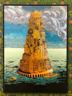 "Chuck Sperry -  ""Tower of Babel"" - Spoke Art"