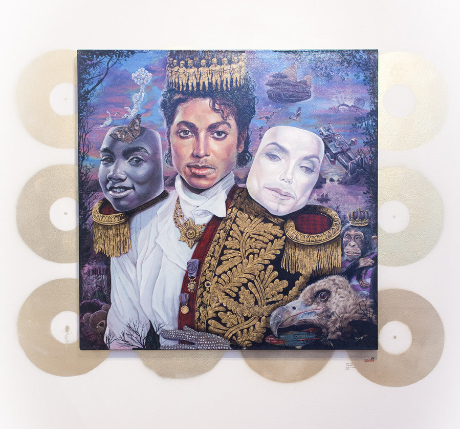 """Michael Jackson, Imagination"" - Spoke Art"