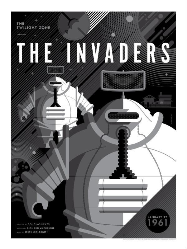 "Tom Whalen - ""The Invaders"" - The Twilight Zone - Spoke Art"