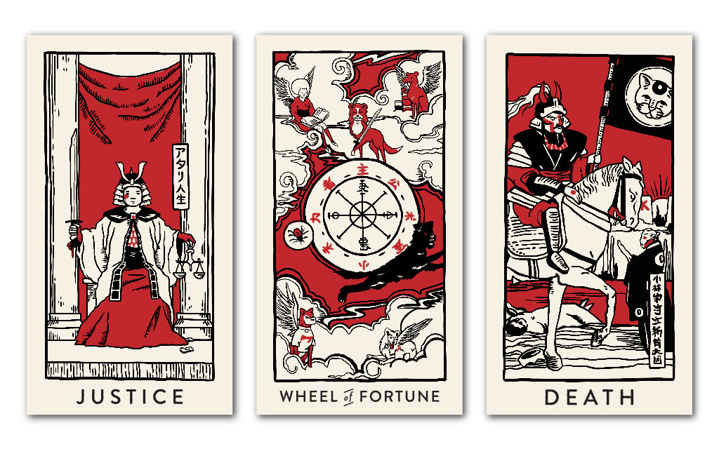 "Brighton Ballard - ""Isle of Dogs Tarot Cards"""