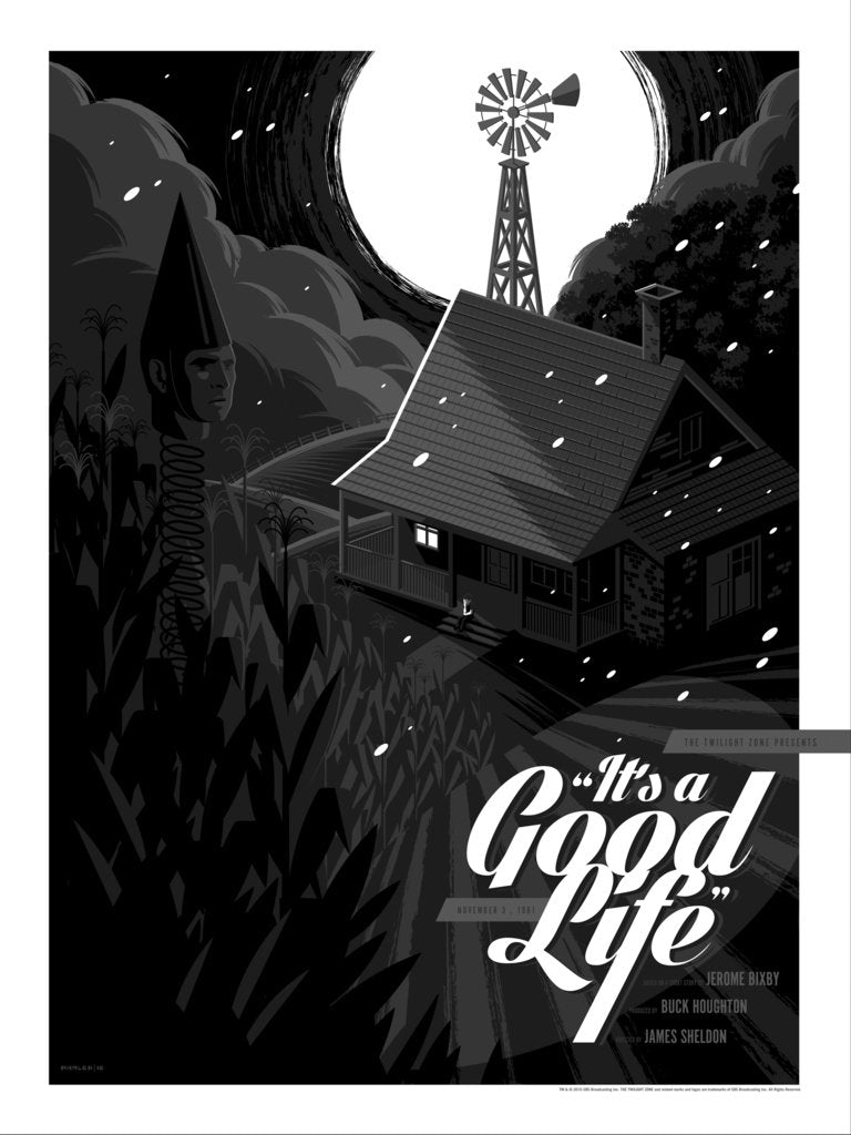 "Tom Whalen - ""It's a Good Life"" - The Twilight Zone - Spoke Art"
