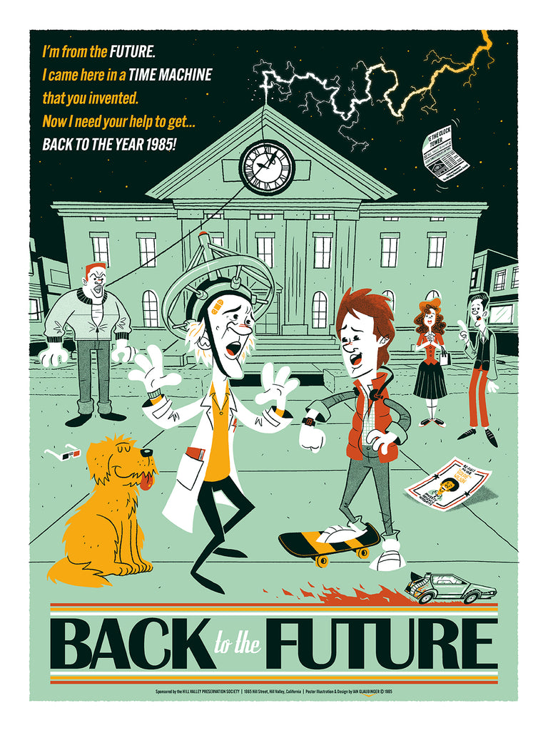 "Ian Glaubinger - ""Back to the Future"" - Spoke Art"
