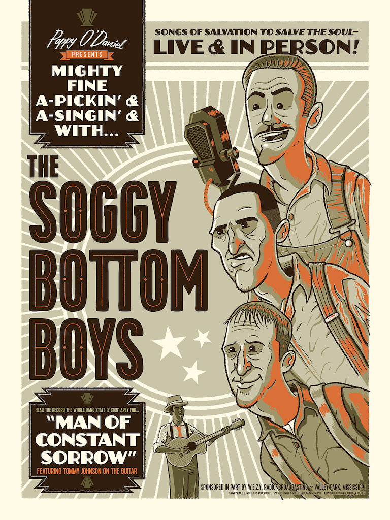 "Ian Glaubinger - ""The Soggy Bottom Boys"" - Spoke Art"