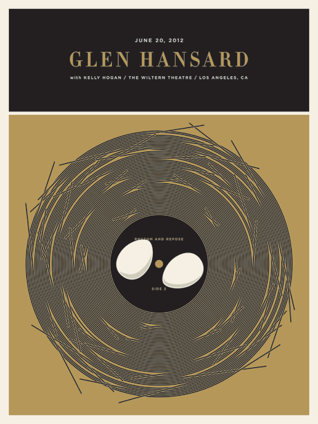 "Jason Munn - ""Glen Hansard"" - Spoke Art"