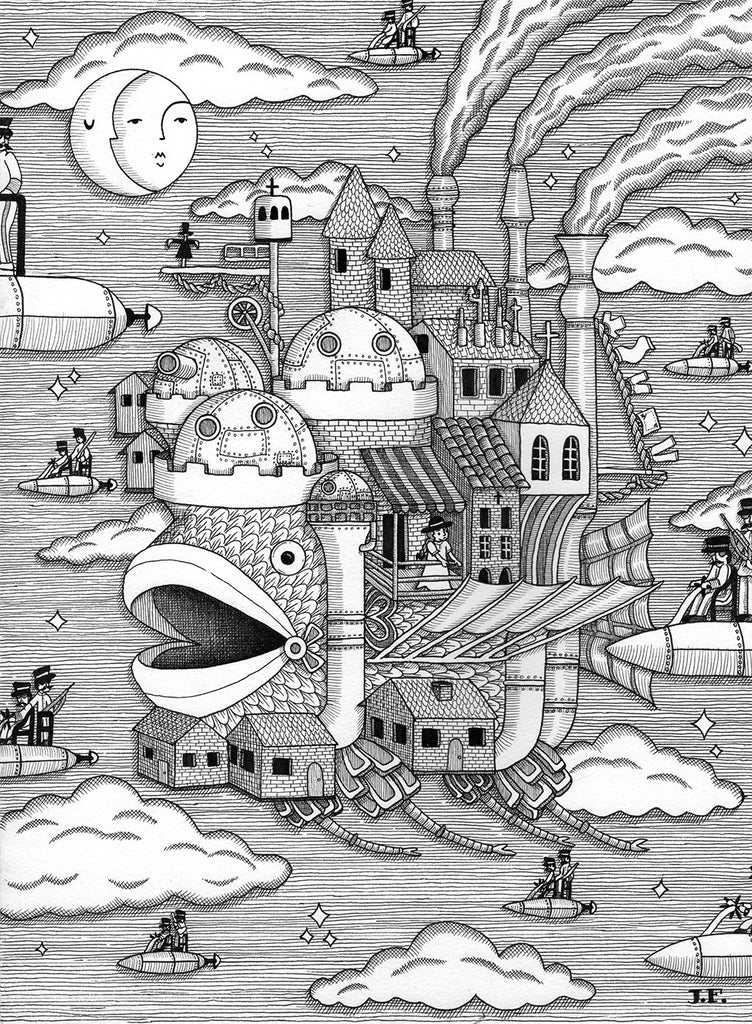 "Jayde Fish - ""Fish's Moving Castle"""
