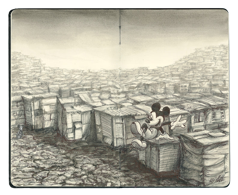"Jeff Gillette - ""Mickey Slumscape"""