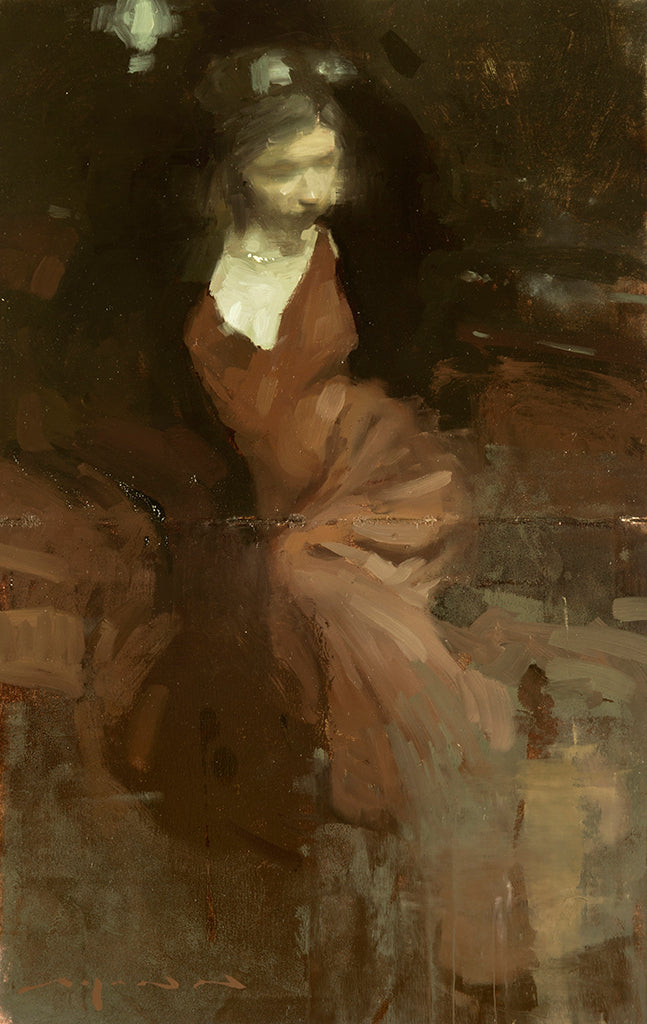 "Jeremy Mann - ""Note in Pale Red No. 1"""