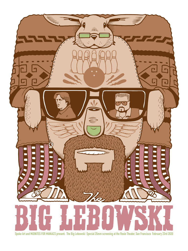 "Jeremy Fish - ""The Big Lebowski"" - Spoke Art"