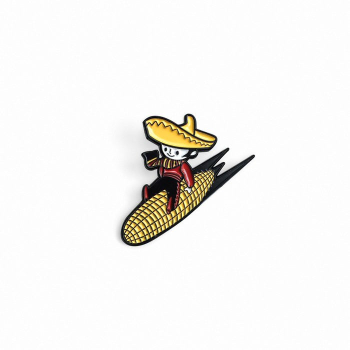 Jimmy The Cornman Enamel Pin