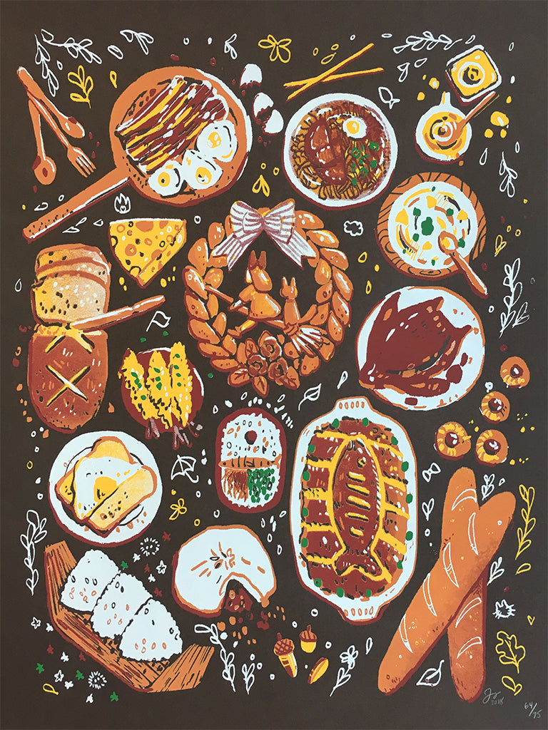"Josey Tsao - ""Itadakimasu! / Let's Eat!"" - Spoke Art"