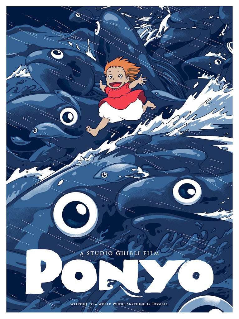 "Joshua Budich - ""Ponyo (A World Where Everything Is Possible)"" - Spoke Art"