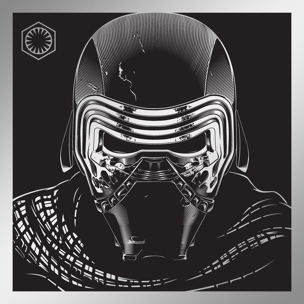 "Joshua Budich - ""Kylo Ren"" - Spoke Art"