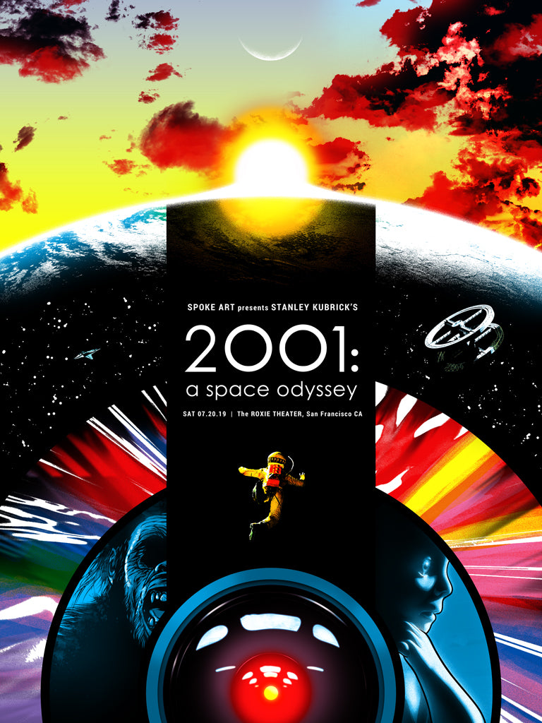 "Joshua Budich - ""2001: A Space Odyssey"" - Spoke Art"