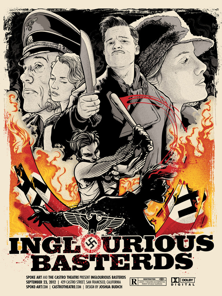 "Joshua Budich - ""Inglorious Basterds"" - Spoke Art"