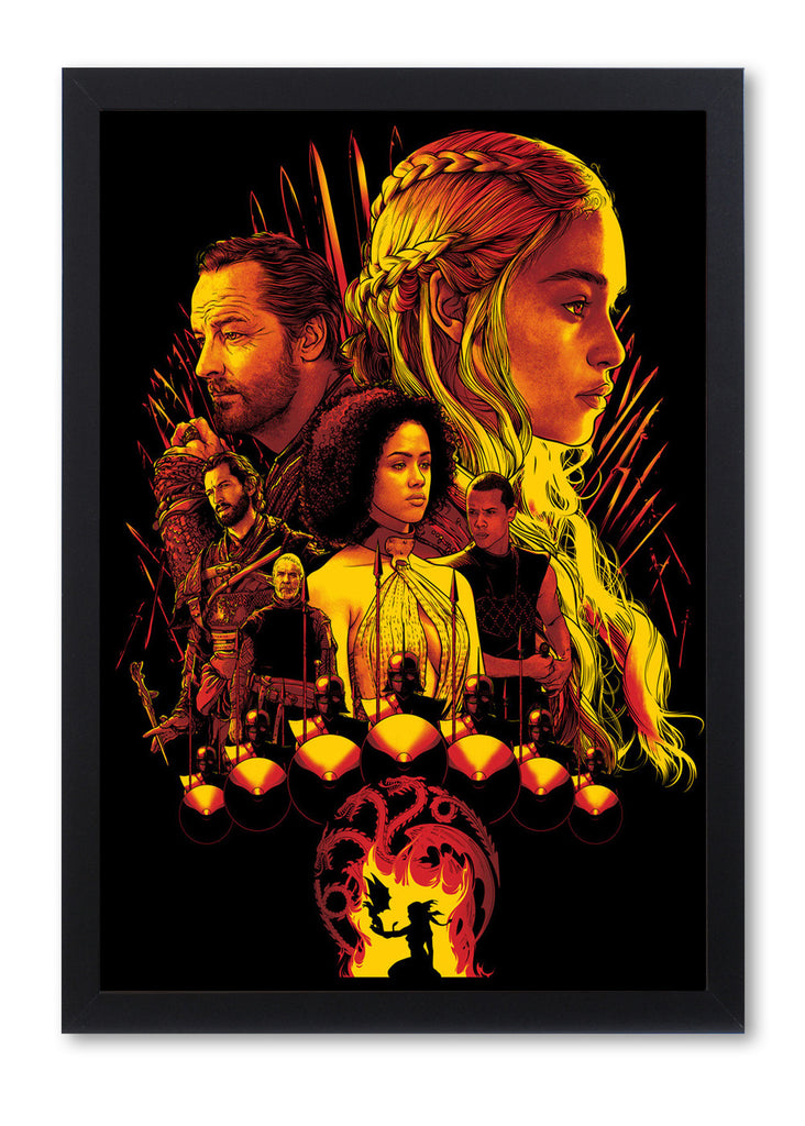"Joshua Budich - ""House Targaryen"" - Spoke Art"