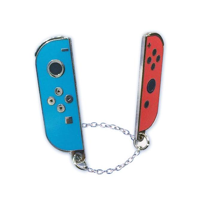 Joy-Cons Blue & Red (2 Enamel Pin Set) - Spoke Art