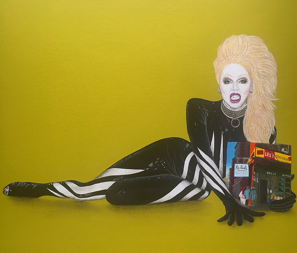 "Justin Hager - ""Rupaul's Boutique"" - Spoke Art"