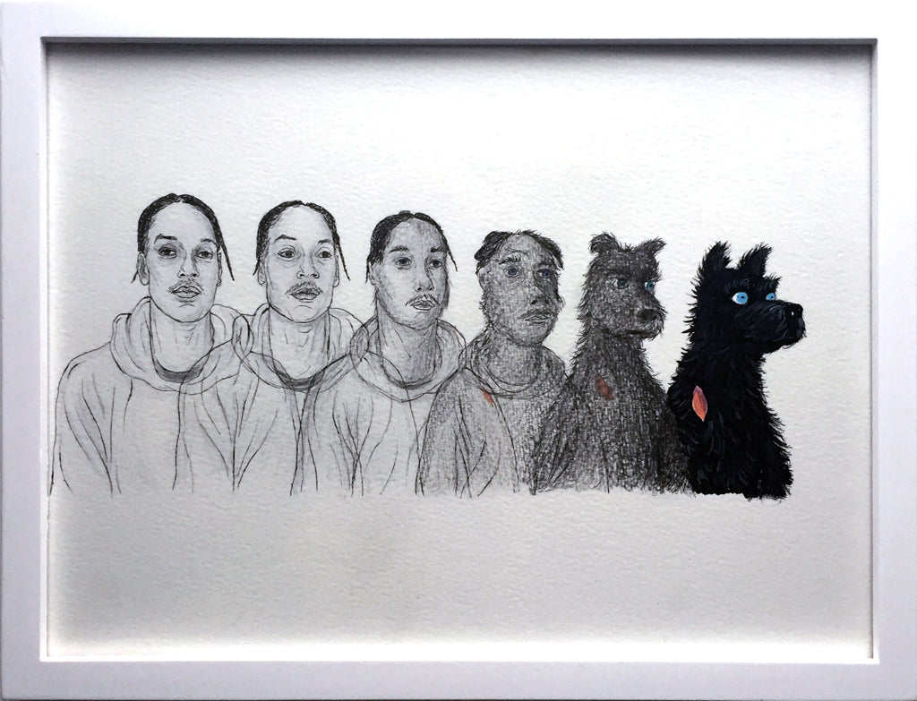"Justin Hager - ""Doggy Dog Turning Into Chief"" - Spoke Art"