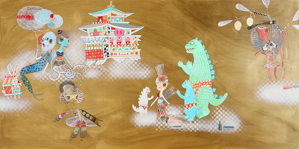 "Kelly Tunstall + Ferris Plock - ""happy hunting"""