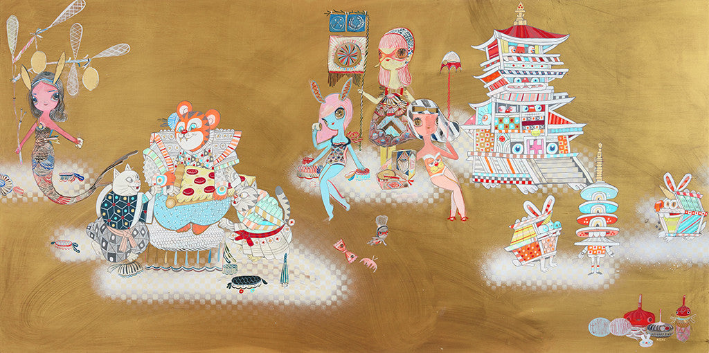 "Kelly Tunstall + Ferris Plock - ""happy hunting"" - Spoke Art"