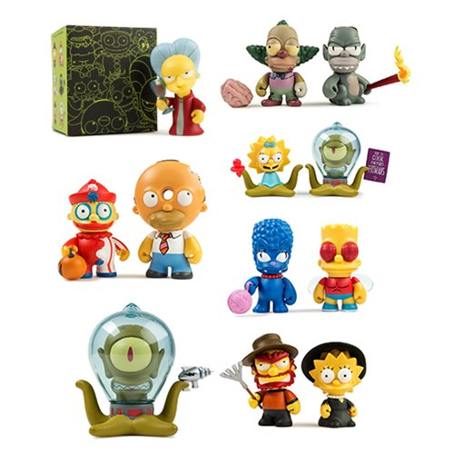 Simpsons Tree House of Horrors Mini-Figure Blind Box - Spoke Art