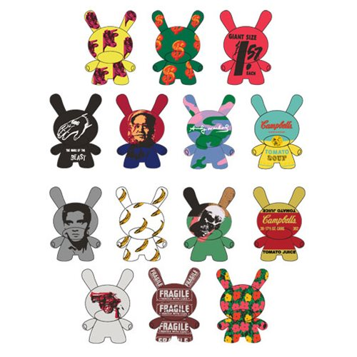Andy Warhol Dunny Series 2.0 Mini-Figure Blind Box - Spoke Art