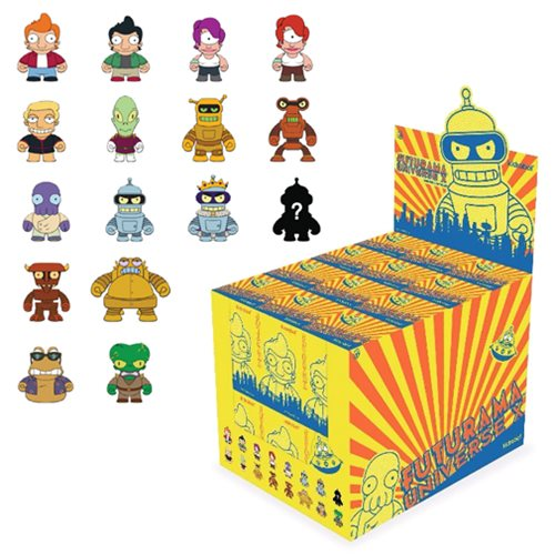 Futurama Universe X Mini-Figure Blind Box - Spoke Art