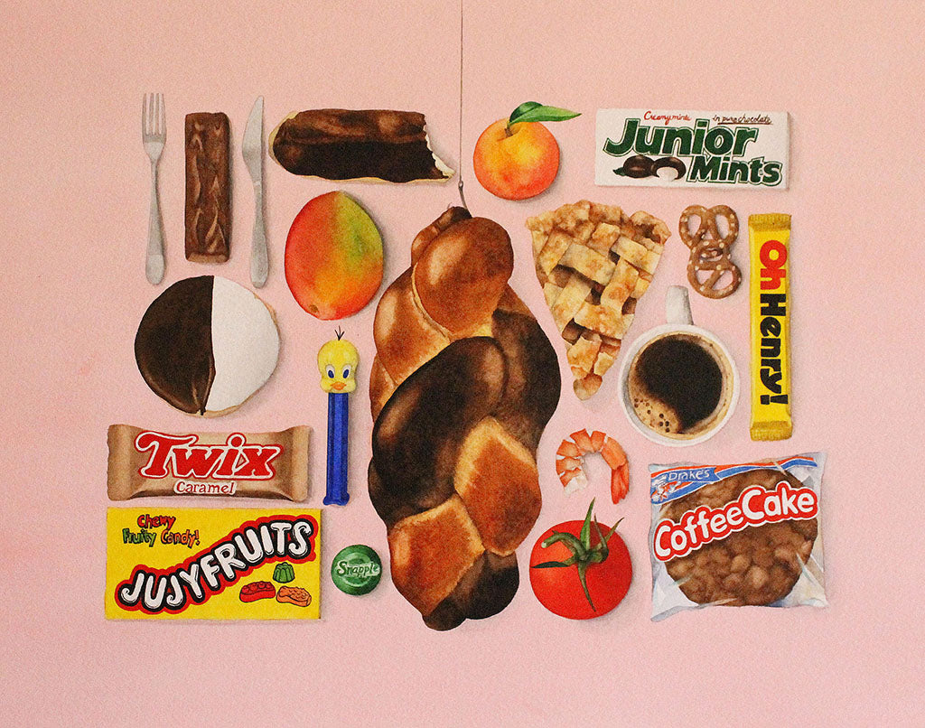 "Kate Snow - ""The Food Painting"" - Spoke Art"