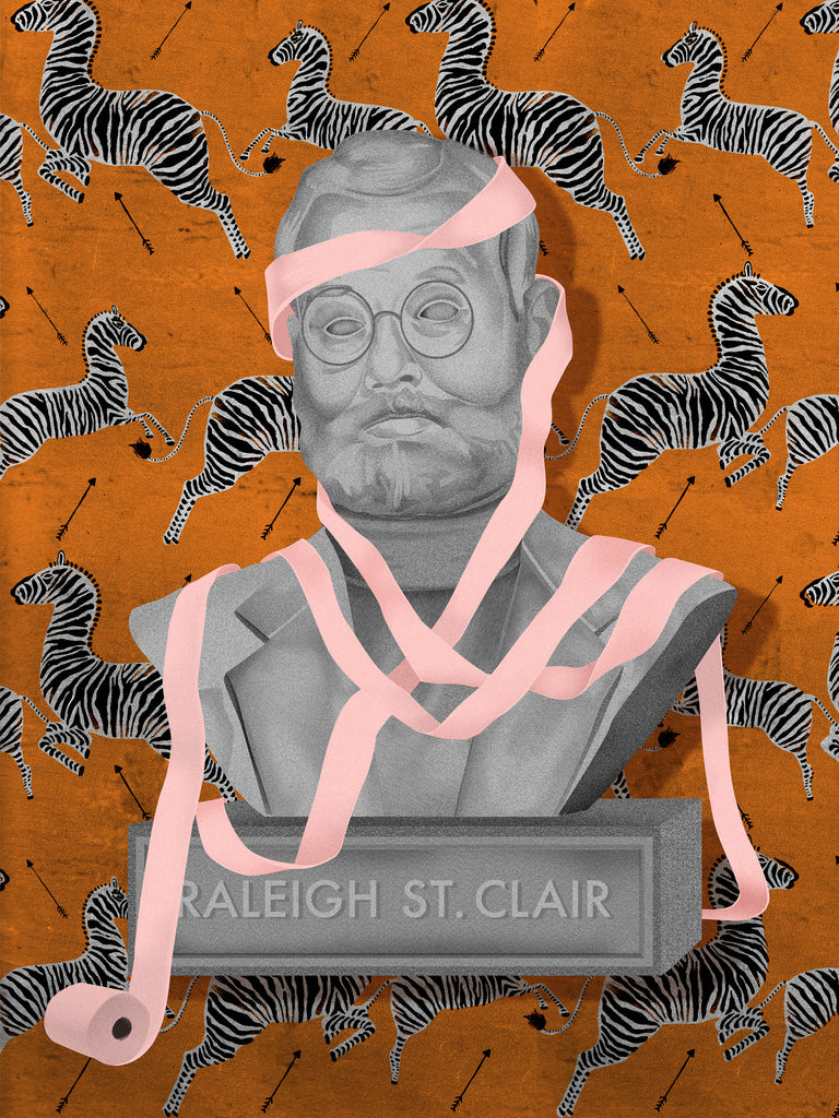 "Kathryn Macnaughton - ""Statue of Raleigh St. Clair"""