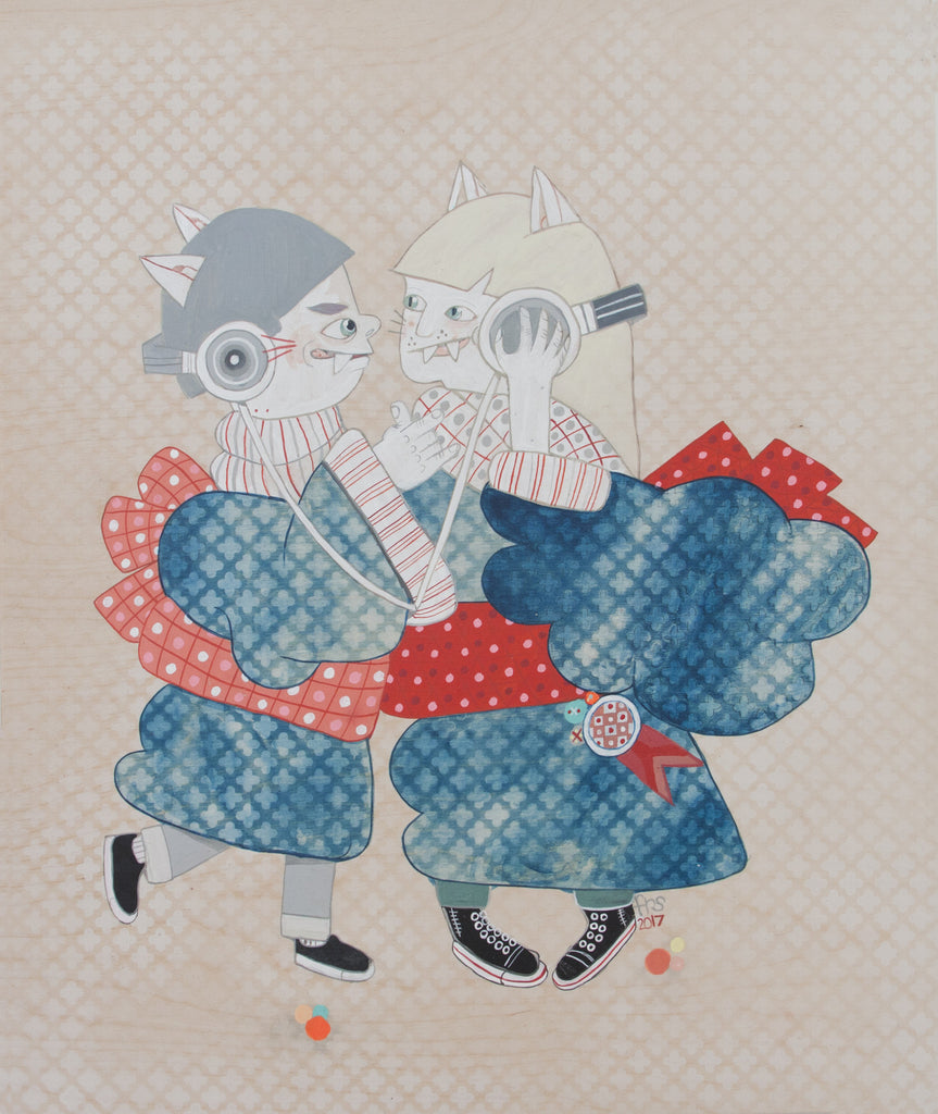 "Ferris Plock - ""dual output"" - Spoke Art"